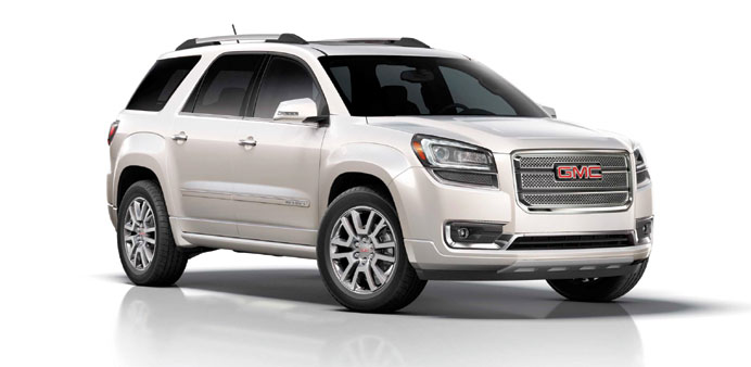 Mannai launches new GMC Acadia models