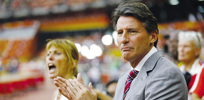 Athletics is much more than 'test tubes, blood and urine', says Seb Coe