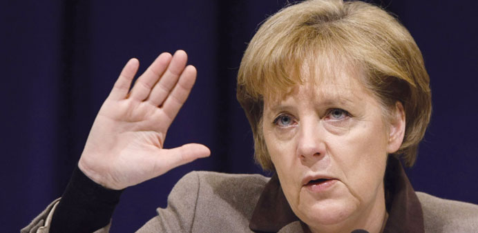 Germany's Merkel pushes rule of law, market access in China