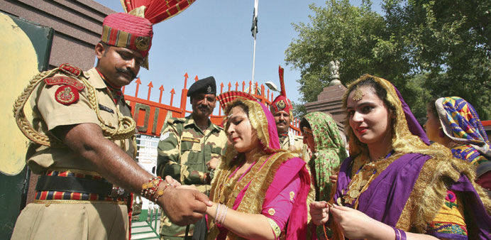 'Rakhis for soldiers signal to anti-nationals'