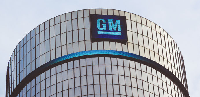 General Motors reports $1.4bn net income in third quarter