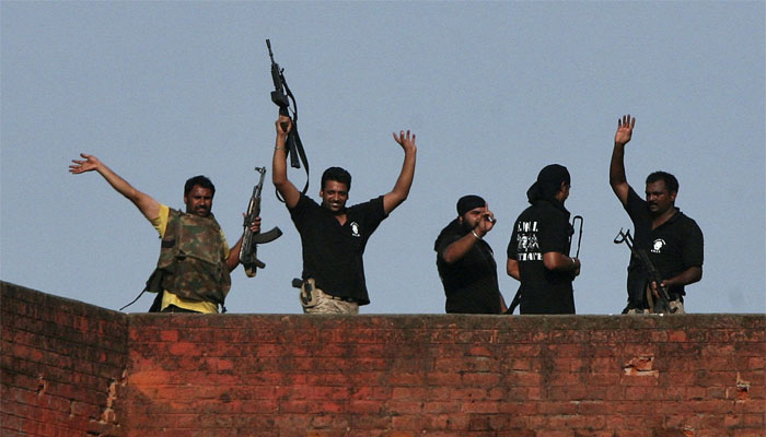 India says Punjab attackers came from Pakistan