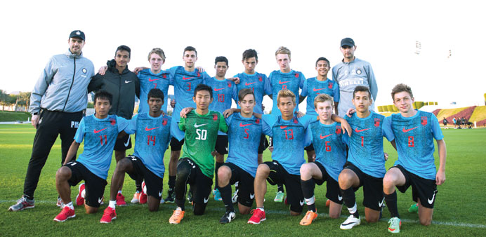 Top youth players attend Nike camp at Aspire