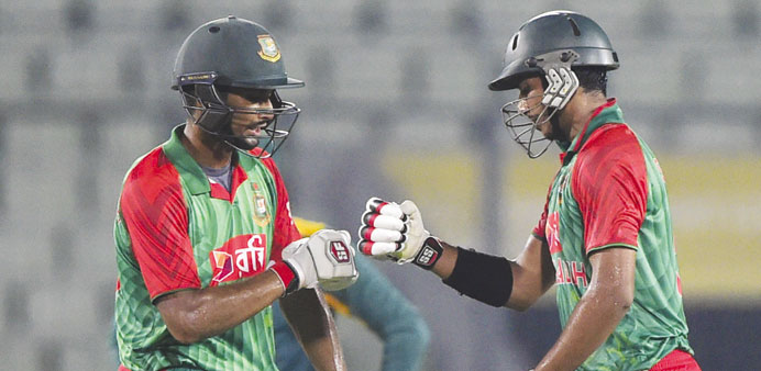 Bangladesh thump South Africa to level series at 1-1