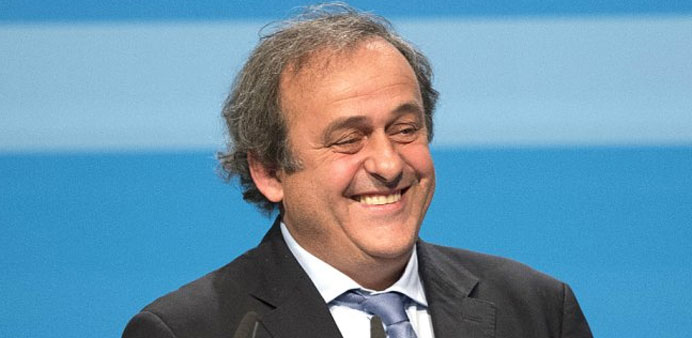 Platini tells UEFA 'my conscience is clear'