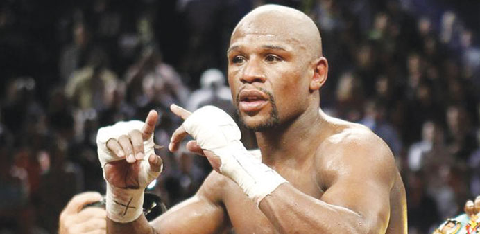 Mayweather set for Maidana re-match in Sept