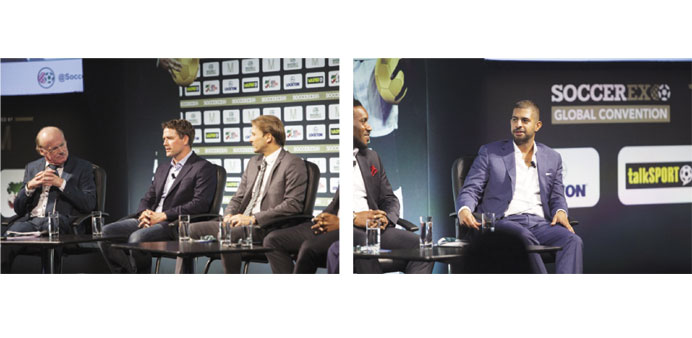 World Cup legends join SC at Soccerex Global Conference