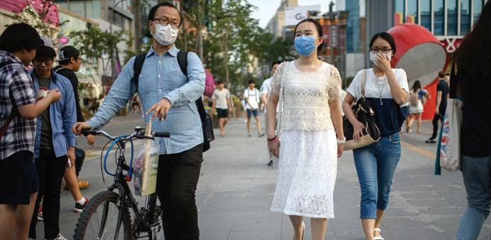 South Korea reports first MERS case in three years