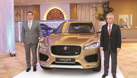 Jaguar's F-Pace luxury crossover in Qatar launch