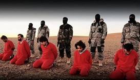 Wideo showing five alleged 'spies' being executed