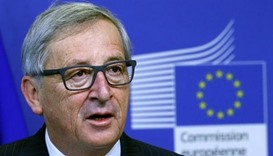 European Commission chief Jean-Claude Juncker