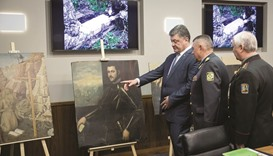 Ukraine recovers 17 paintings stolen from Verona museum