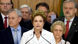 Rousseff vows to fight on after Senate vote to suspend her