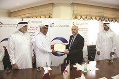 QRCS empowering 28 families with funding from Oxy Qatar