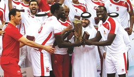 Arabi secure Emir Cup volleyball hat-trick
