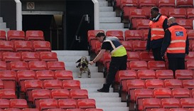 Man United game abandoned over security alert