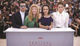 British director says 'shocking' US poverty drove Cannes entry