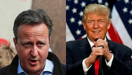 Cameron stands by 'divisive, stupid and wrong' comment on Trump
