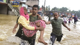 Lanka flood toll hits 11, thousands more homeless
