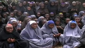 File photo of kidnapped Chibok schoolgirls