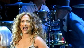 Jennifer Lopez shines at Qatar Airways private gala in Atlanta