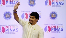 Philippine boxing star Pacquiao wins seat in Senate