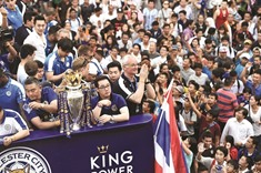 Palace and parade for Leicester on Thailand tour