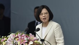 New Taiwan president urges China to drop historical baggage
