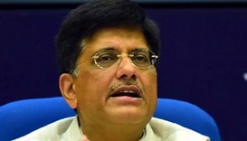Indian power minister's speech hit by power cut