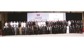 Qatar Steel honours long-serving staffers