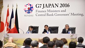 G7 warns over global economy as currency row flares