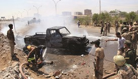 Bomb targeting police chief in Aden kills four guards