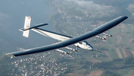 Solar Impulse 2 plane leaves Oklahoma on fuel-less flight