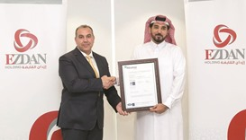 Ezdan Holding Group receives three global ISO certifications