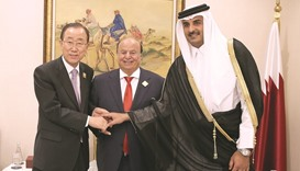 UN chief  lauds Qatar  and Kuwait  initiatives