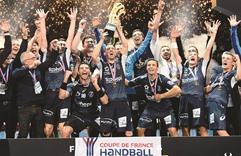 Montpellier beat PSG to win Handball French Cup