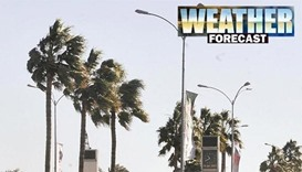Strong winds, high of 43 degrees forecast for Wednesday