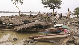 Thousands become homeless in cyclone-hit Bangladesh