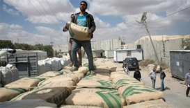 Gaza cement deliveries resume after Israel lifts ban