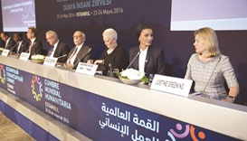 Sheikha Moza takes part in session on education in emergencies