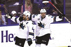Sharks on the brink as Blues beaten