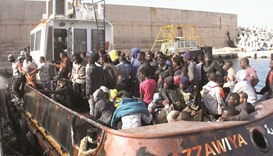 135 are rescued by oil tanker off Libya coast