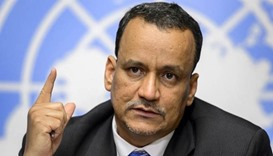 UN envoy Ismail Ould Cheikh Ahmed.