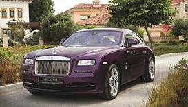 Inspirational Rolls-Royce Wraith Wolf arrives in Doha