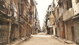 Life behind plastic in window-less Syrian city