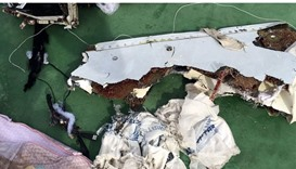 EgyptAir crash- Some of the the debris recovered of the flight
