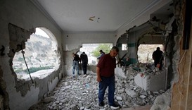 Israel destroys home of Palestinian suspect in murder of Israelis