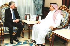 Qatar is a major player in regional peace, says  British foreign secretary