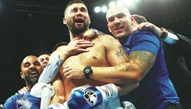 Fiction becomes reality for 'real-life Rocky' Bellew