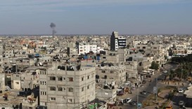 Israel hits Gaza after mortar fire across border